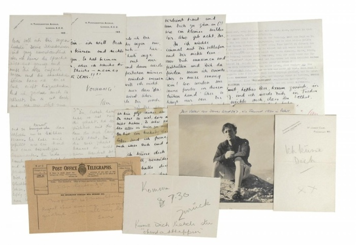 Letters to Edith Morpurgo from the offices of Cull & Co.