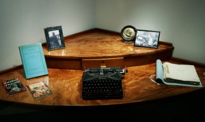 Ian Fleming's corner desk