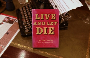 first_live_and_let_die_book_1954
