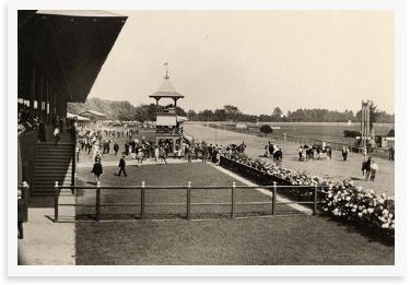 Saratoga Racetrack in the 1950s