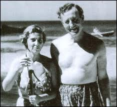 Blanche Blackwell with ian-fleming