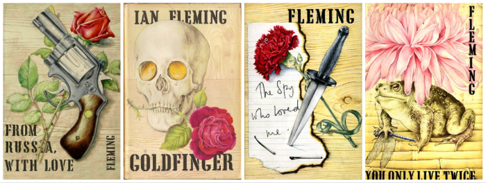 Fleming and Chopping decided on a Rose, Carnation and as Chrysanthemum for 4 dust jackets.