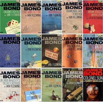 james bond order of books