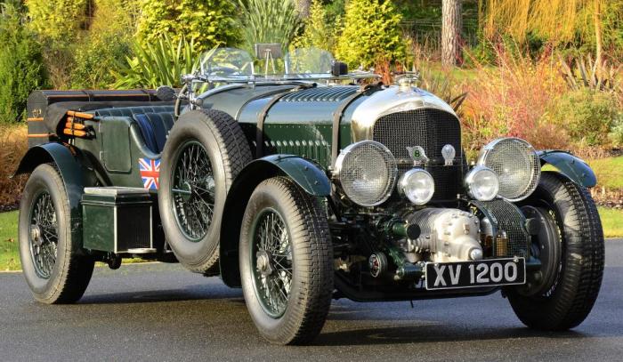 """1930 4 1/2 litre """"Blower"""" Bentley"""