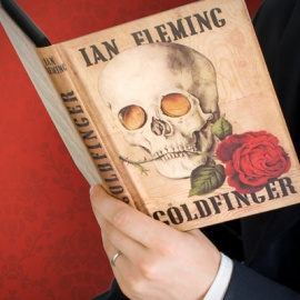 goldfinger bond kindle case