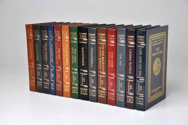 Fleming's Bond in leather bound Eaton Press
