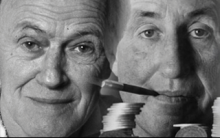Roald Dahl and Ian Fleming