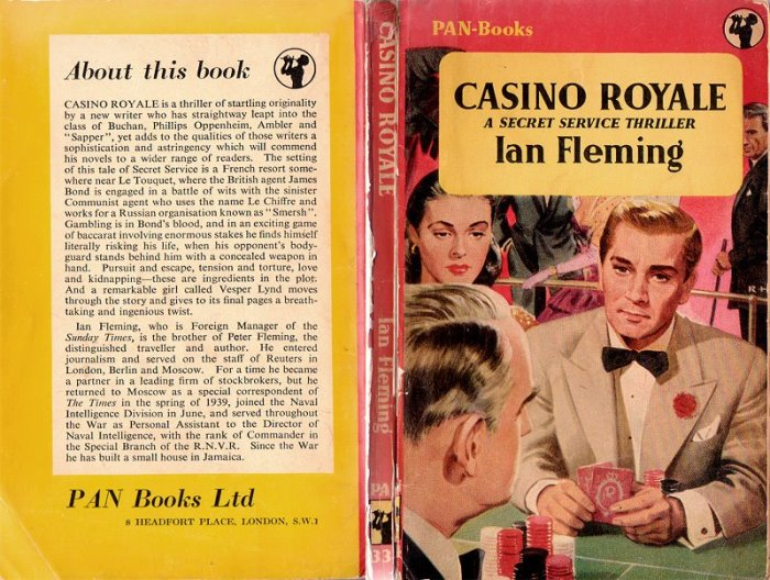 casino royale pan first UK paperback