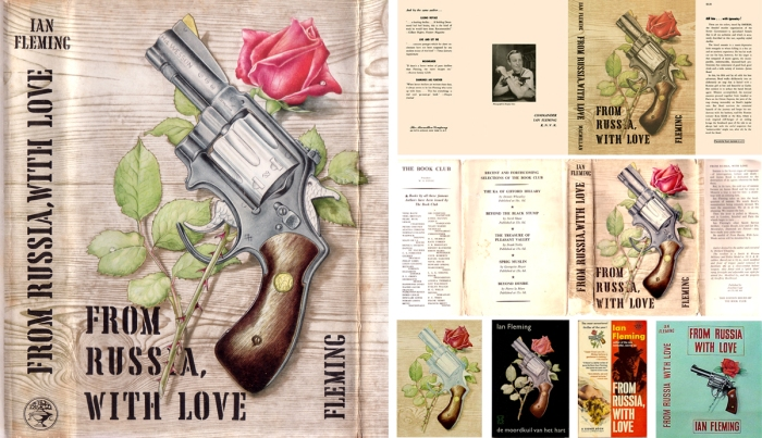from russia with love richard chopping artwork cover james bond 007