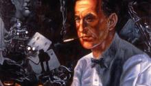 Ian Fleming Illustration by George Almond