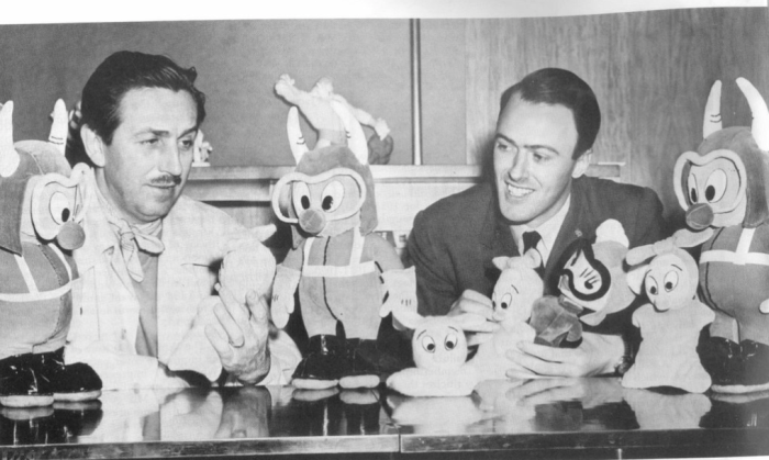 Roald Dahl and Walt Disney
