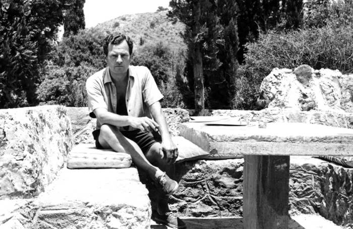Paddy at his home on Kardamyli