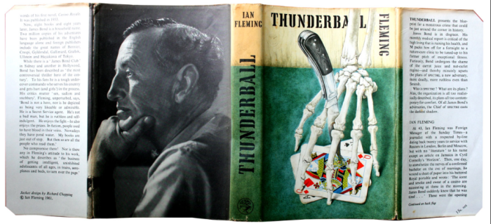 Thunderball Dust Jacket
