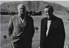 Richard Hughes and Ian Fleming