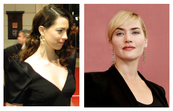 Rebecca Hall and Kate Winslet