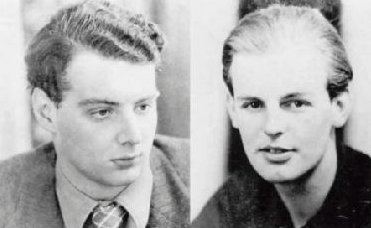 Guy Burgess and Donald Maclean