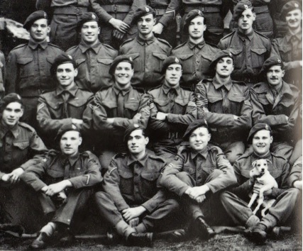 Men from 30AU in early 1945