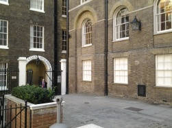 Mitre Court, Fleming's writing office location