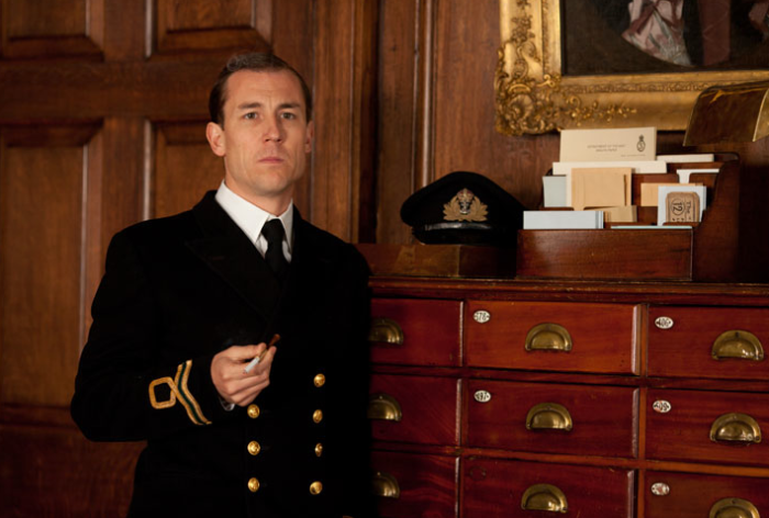Tobias Menzies as Ian Fleming.