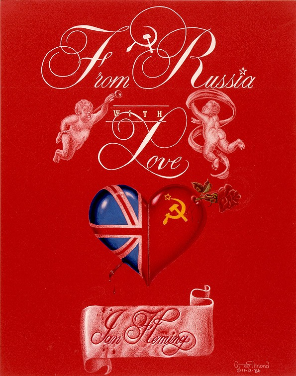 From Russia, With Love Cover Concept | ©George Almond