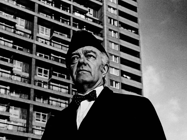 Erno Goldfinger at Trellick Tower, in West London