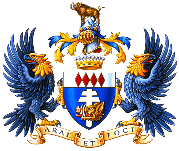 Ernst Stavro Blofeld's coat of arms.