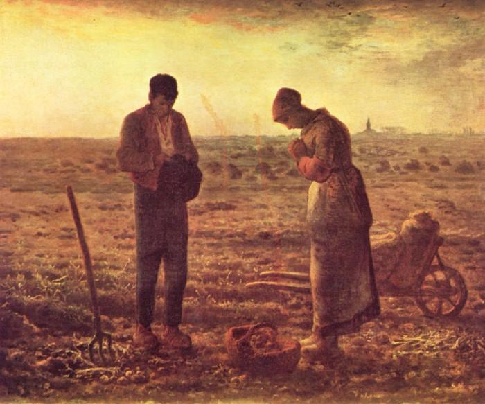 Francois Millet's painting L'Angelus