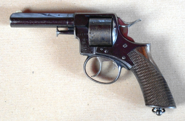 The Webley RIC handgun