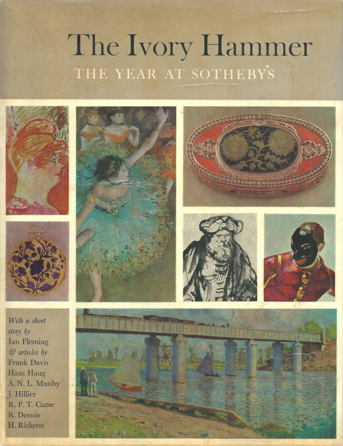 1963 Sotheby's yearbook where The Property of a Lady