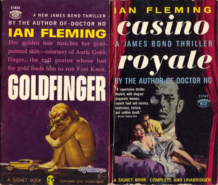 US Goldfinger paperback first edition
