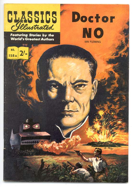 1962 Classics Illustrated version of Dr No