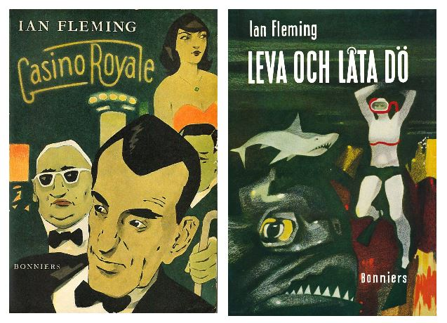 Swedish James Bond first editions