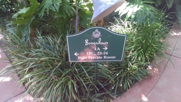 Beverly Hills Hotel - Bungalow Sign