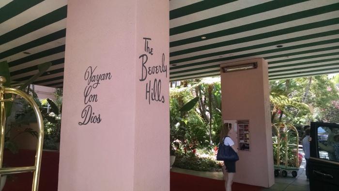 Beverly Hills Hotel - Entrance