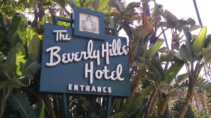 Beverly Hills Hotel - Sign