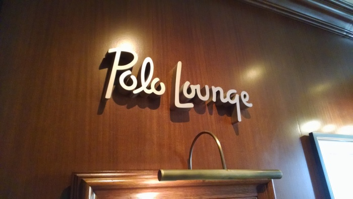 Polo Lounge Sign
