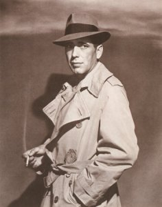 Humphrey Bogart as Philip Marlowe in The Big Sleep