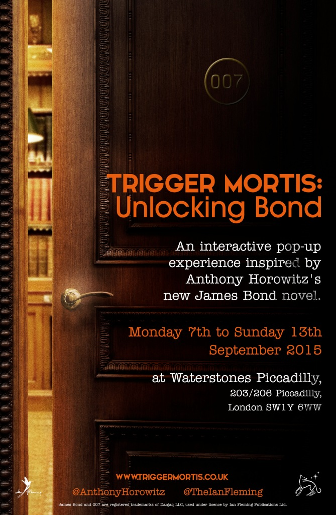 Trigger Mortis: Unlocking Bond - pop-up at Waterstones