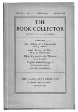 The Book Collector, Spring, 1965