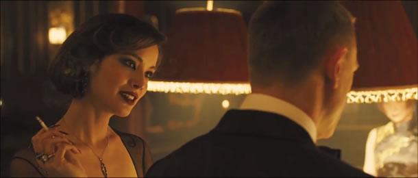 Berenice Marlohe as Severine in 'Skyfall'