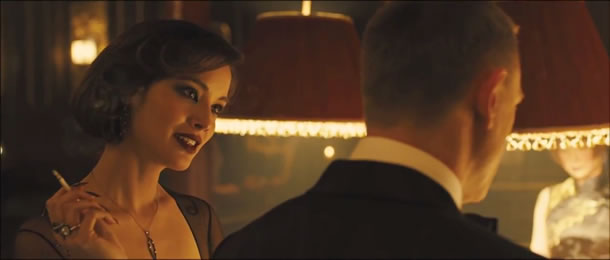 Berenice Marlohe as Severine in 'Skyfall'