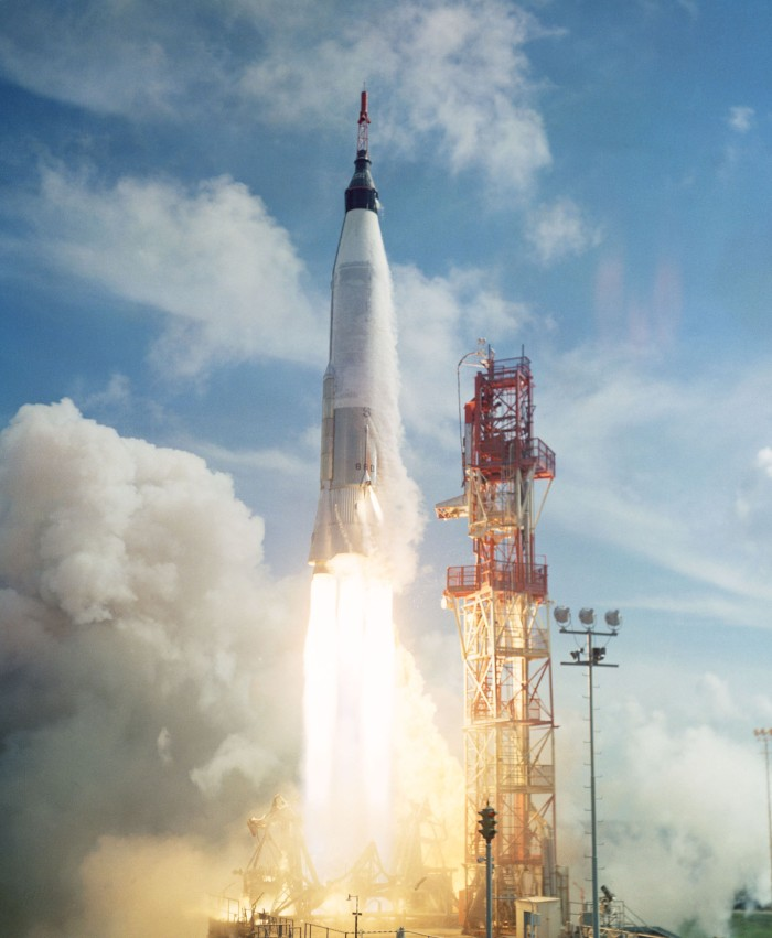 Mercury-Atlas_4_launch