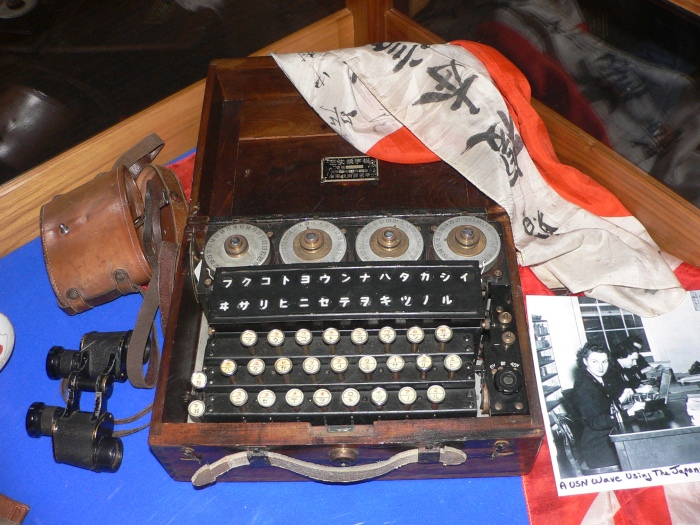 Japanese 'Purple' Cipher Machine (Photo: Wikipedia.org)