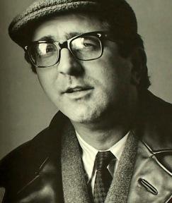 len deighton 1960s horn rim glasses