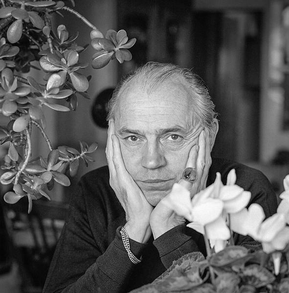 Richard Chopping - Photographed 11-10-1971 © Edward Morgan