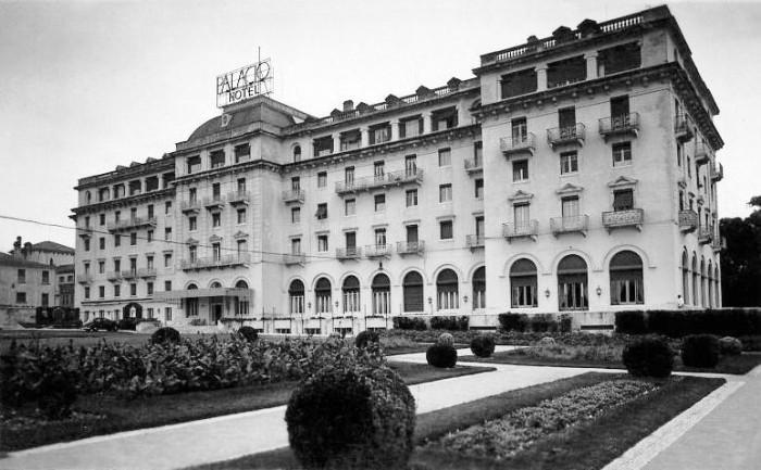 Palacio Hotel in Estoril, Portugal.