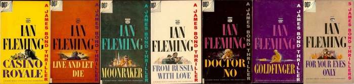 Signet James Bond paperbacks