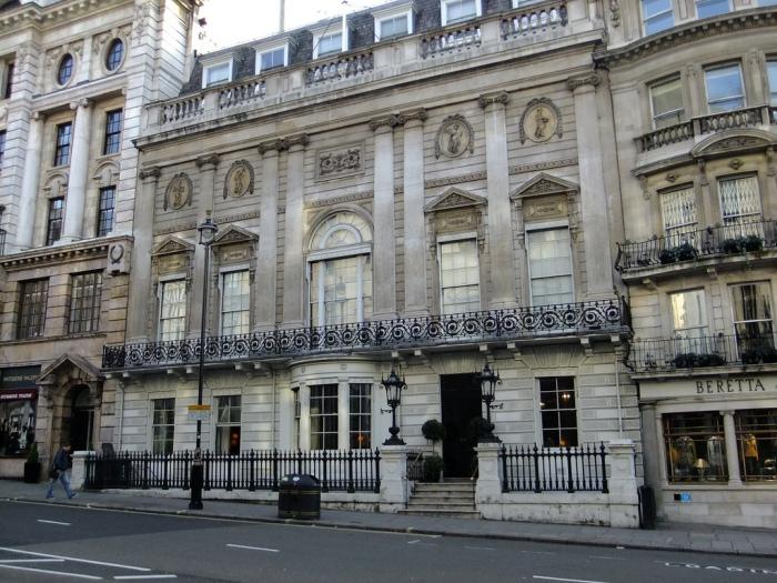White's Club, St. James St.