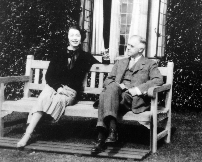 Maud and Gilbert Russell (credit: the Maud Russell estate)
