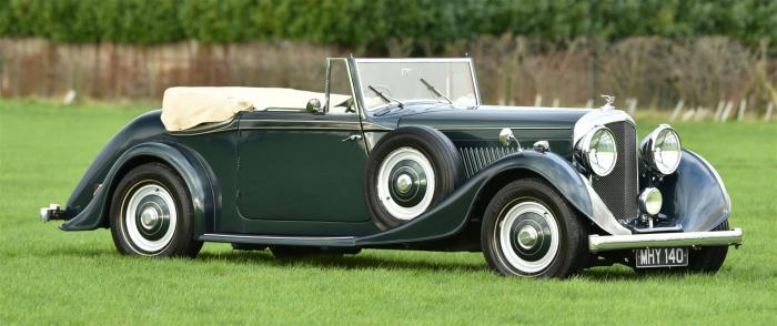 The MK VI Bentley